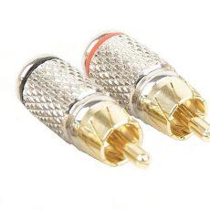 RCA коннекторы прямые ACV G600 одна пара