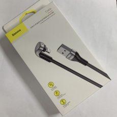 Кабель угловой 180 градусов для iPhone/iPad Baseus (original!) Игровой U-shaped Lamp Mobile Game Cable