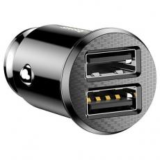 Зарядное устройство для прикуривателя 2xUSB ток 5 Ампер Baseus Car Charger BS-C16Q1