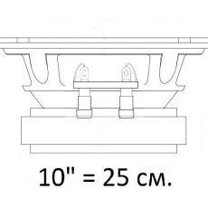 Эстрада 10 дюймов (25 см.)