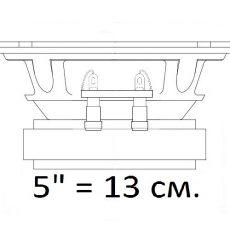 Эстрада 5 дюймов (13 см.)