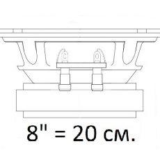 Эстрада 8 дюймов (20 см.)