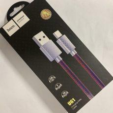 Кабель HOCO. U61 Type-C (original!) Treasure Charging Data Cable с функцией быстрой зарядки.