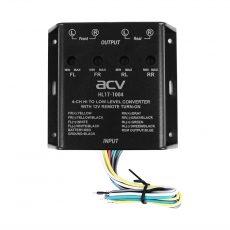 Преобразователь (конвертер) уровня с шумоподавителем, регулируемый ACV HL17-1004