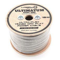Силовой кабель Ultimatum Expert Serie OFC 4Ga луженый, плоский.