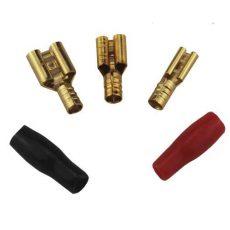 Обжимная клемма (ножевая) для акустического кабеля URAL (Урал) SPT-DB14GA (5,5 мм)