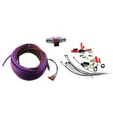 Профессиональный комплект кабелей и аксессуаров для установки 2-канального усилителя Ural 8Ga-BV2KIT