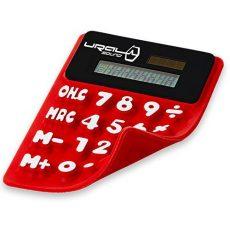 Фирменный «карманный» (сворачивающийся в трубочку) калькулятор со встроенныи магнитом Ural Calculator