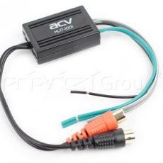 Преобразователь(конвертер) уровня 2RCA ACV HL17-1001