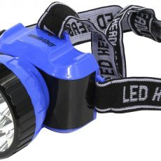 Аккумуляторный налобный фонарь 12 LED