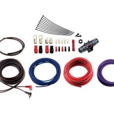 Профессиональный комплект кабелей и аксессуаров для установки 2-канального усилителя Ural 4Ga-BV2KIT