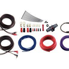 Комплект кабелей и аксессуаров для установки 4-канального усилителя Ural 4Ga-BV4KIT